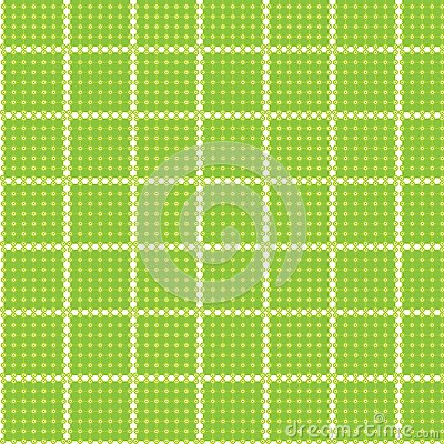 Seamless pattern circle rectangle tablecloth