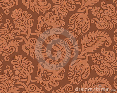 Seamless pattern of classic wallpaper
