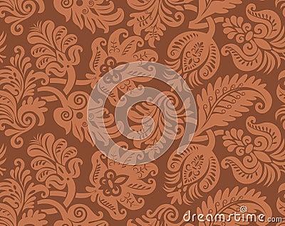 Seamless pattern of classic wallpaper