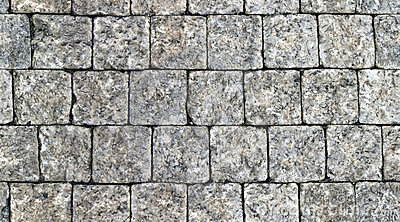 Seamless pattern of cobbles