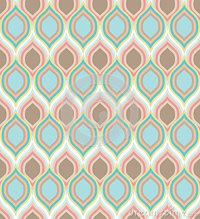Seamless pattern with colorful calm texture