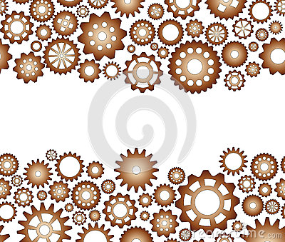 Seamless pattern gear