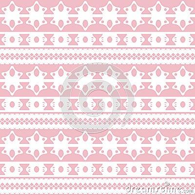 Seamless pattern lace elements