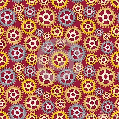 Pattern made of gears