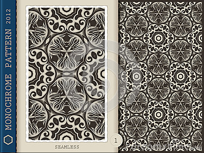 Seamless Pattern-monochrome 1