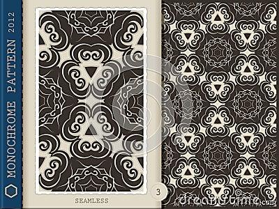 Seamless Pattern-monochrome 3