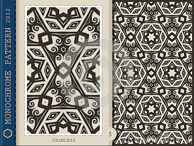 Seamless Pattern-monochrome 5