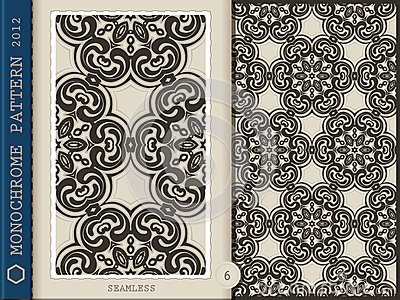 Seamless Pattern-monochrome 6