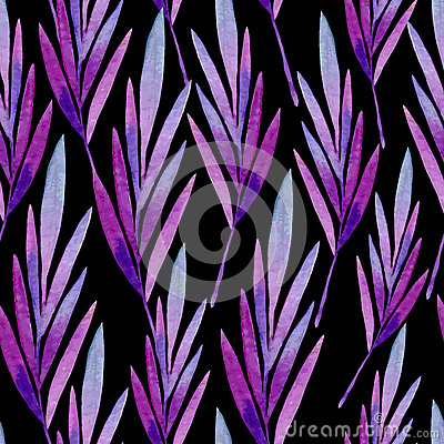 Free Seamless Pattern Of Colored Leaves Stock Photography - 64422532