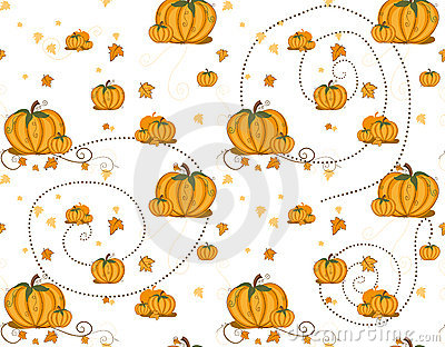 Seamless pattern - Pumpkins