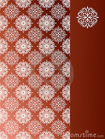 Seamless pattern with snoflakes