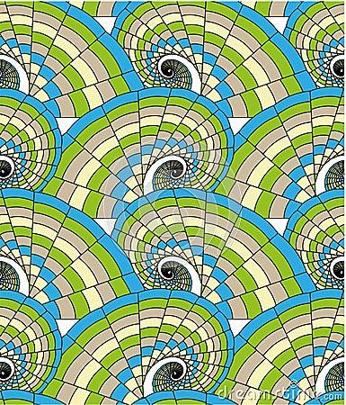 Seamless pattern - spirals