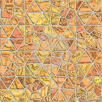 Seamless pattern of a stone