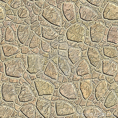 Seamless pattern of a stone