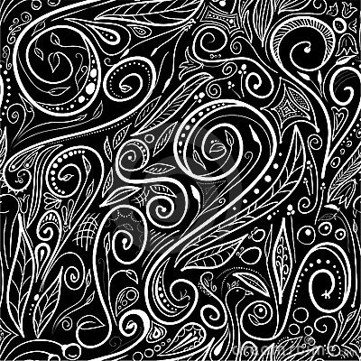 Seamless pattern - swirls