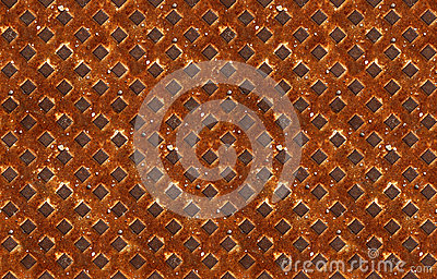 Seamless pattern of textured rusty metal