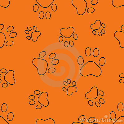 Seamless pattern with traces