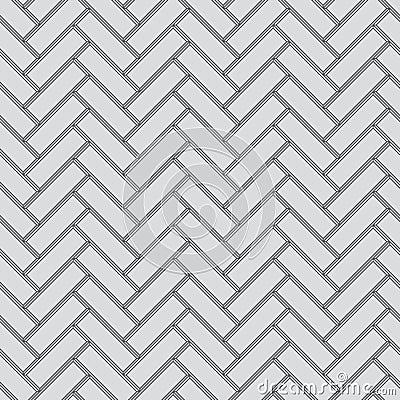 Seamless pattern - vector parquet floor
