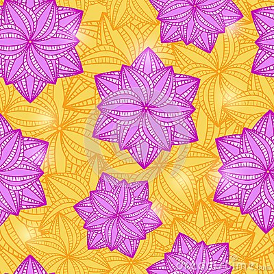 Free Seamless Pattern With Flowers Stock Photography - 32088482