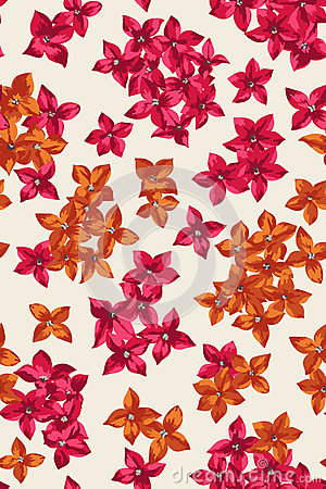Free Seamless Pattern With  Flowers. Royalty Free Stock Image - 66389386