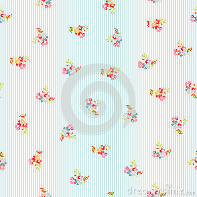 Free Seamless Pattern With Little Flowers Stock Photography - 71762342