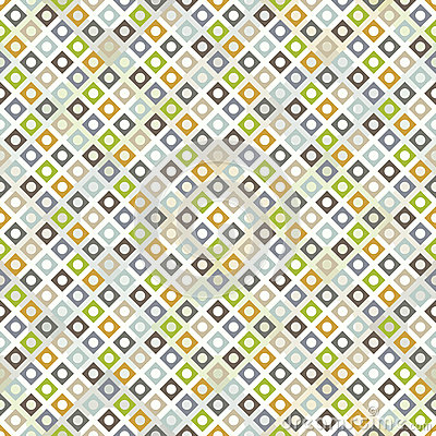 Free Seamless Pattern With Rhombuses Stock Image - 27623501