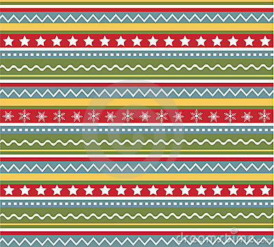 Free Seamless Patterns With Fabric, Christmas Texture Royalty Free Stock Images - 17295629