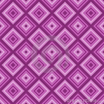 Seamless pink color diamond pattern background.