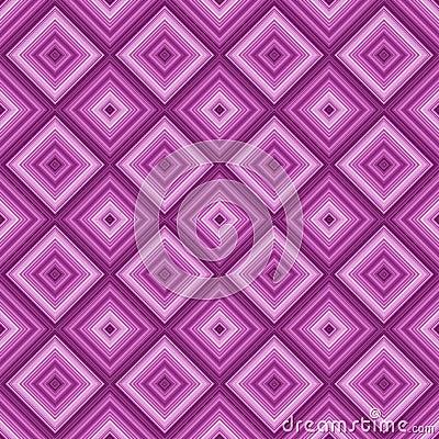 Seamless pink color diamond pattern background.