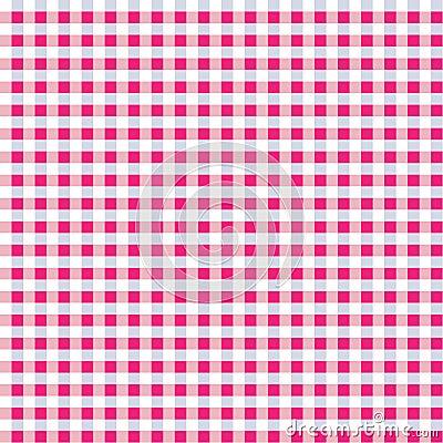 Seamless Pink Mix Gingham