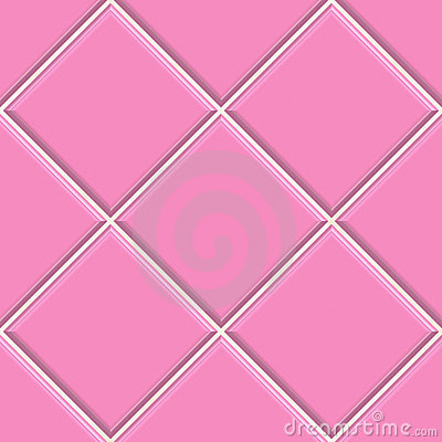 Seamless pink tiles texture background