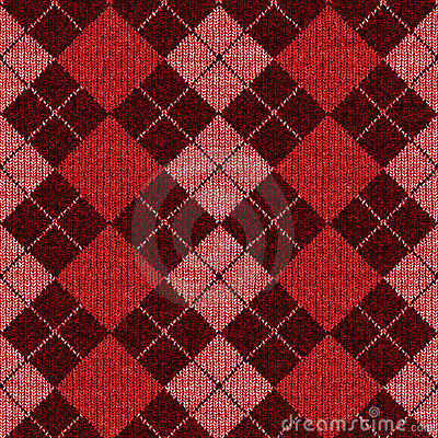 Seamless Plaid Argyle