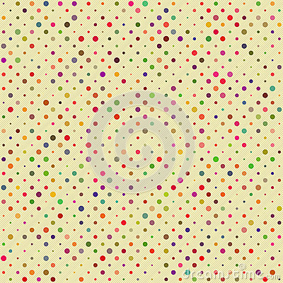 Free Seamless Polka Dot Pattern Stock Photos - 26584833