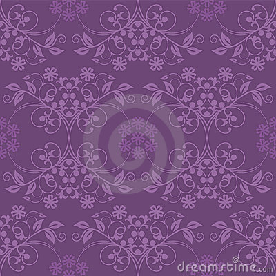 Seamless purple wallpaper
