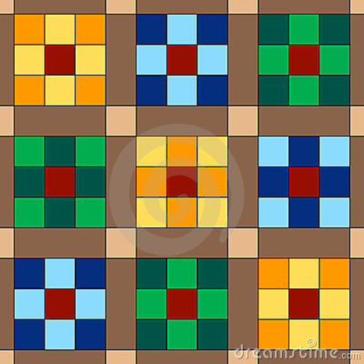 Seamless Quilt Background
