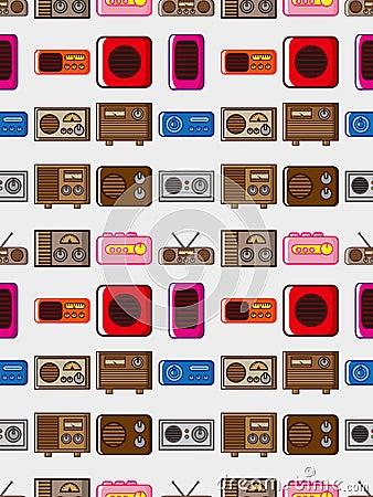 Seamless radio pattern