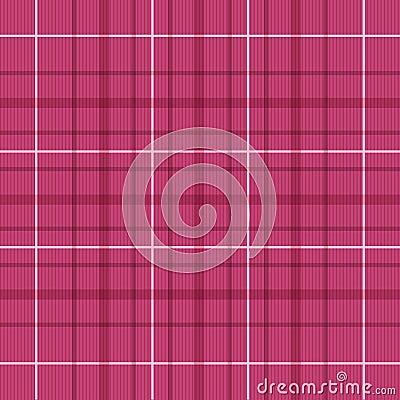 Seamless Raspberry Red Plaid Pattern