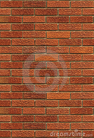 Seamless Red Brick Wall