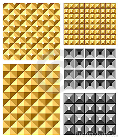 Seamless relief patterns.