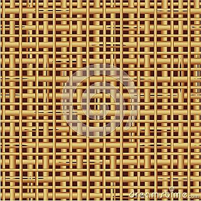 Seamless (repeatable) wickerwork pattern