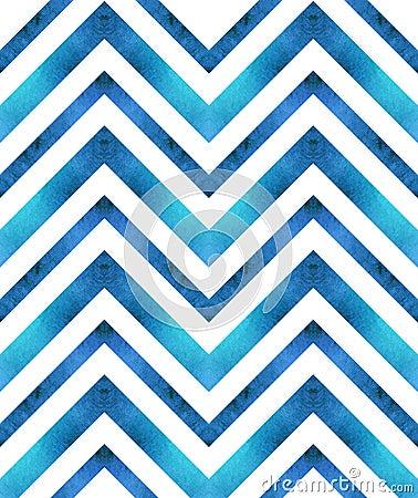 Free Seamless Retro Geometric Pattern With Zigzag Lines. Royalty Free Stock Photo - 61934665