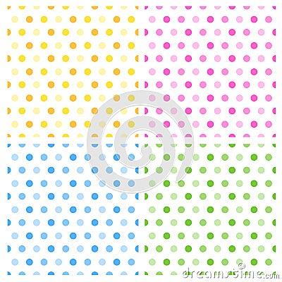 Free Seamless Retro Polka Dots Royalty Free Stock Photo - 17179325