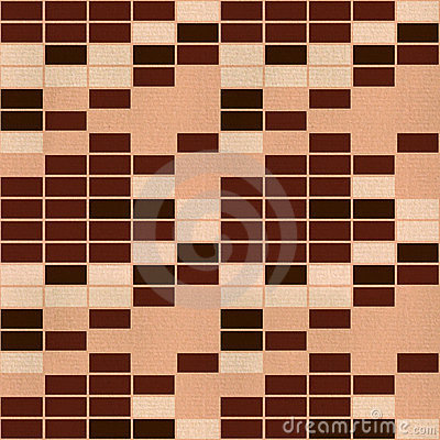 Seamless retro wallpaper tile