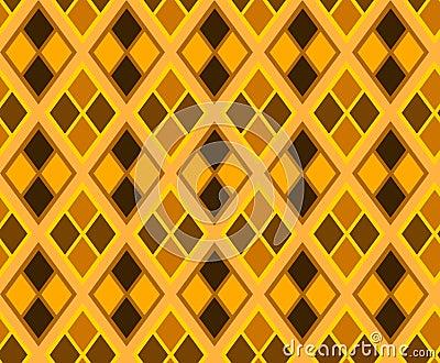 Seamless rhombus texture