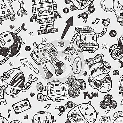 Seamless robot pattern