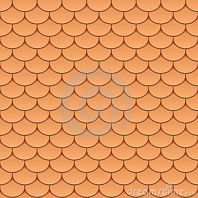 Free Seamless Roof Tiles Royalty Free Stock Photos - 21901628