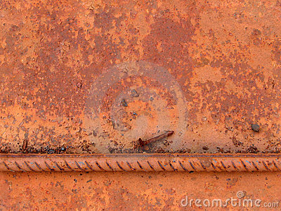 Seamless rust metal texture