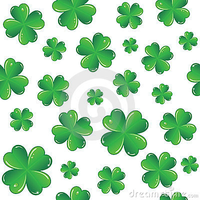 Seamless Saint Patrick s day background