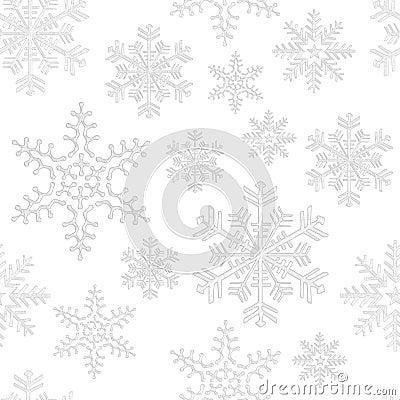 Free Seamless Snowflake Tile Stock Image - 5822441