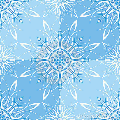 Seamless Snowflake Wallpaper